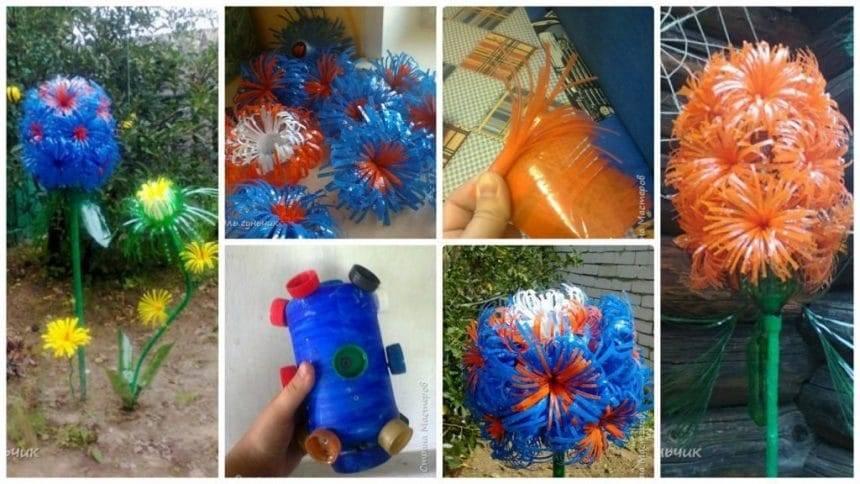 How to make creative flower garden from bottle