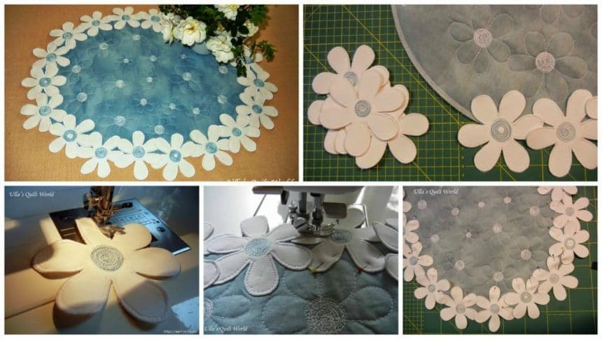 How to make Flower napkin