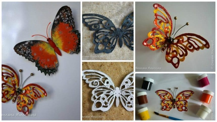 How to make simple class magnets Butterfly
