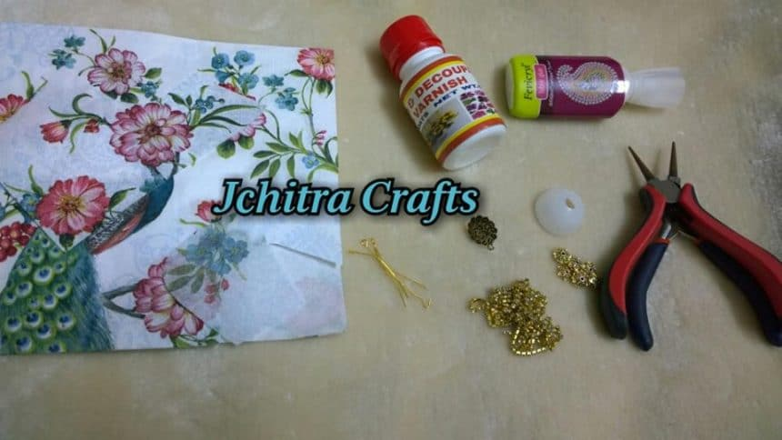 Decoupage Jhumka (2)