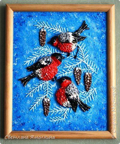 bullfinches panel