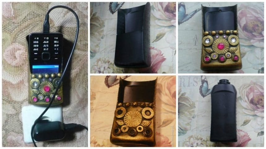 How to make phone charging holder
