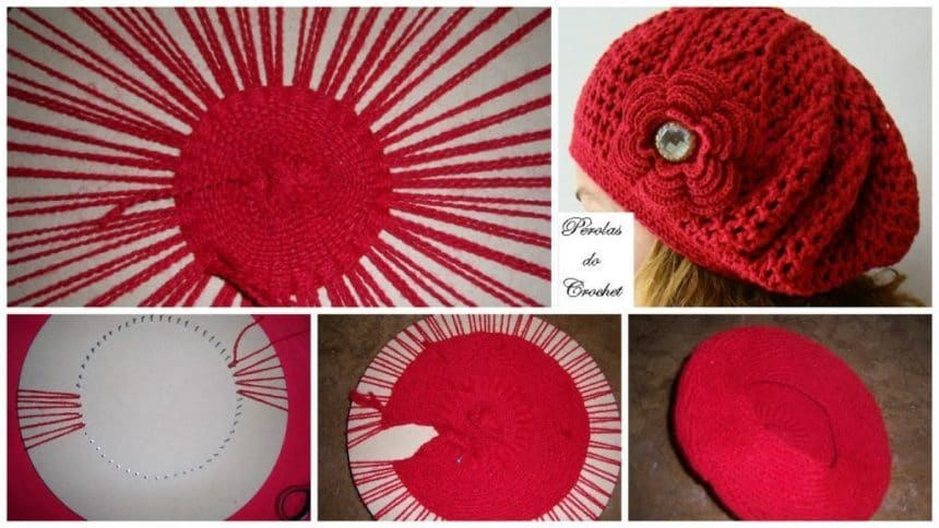 How to use round loom cap