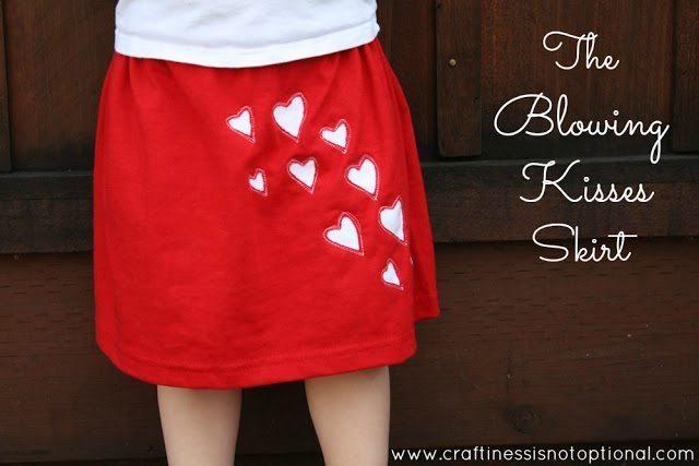blowing kisses skirt