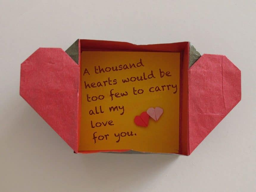 This Video Will Teach You How To Make An Easy Paper DIY Origami Heart Envelope And Box The Perfect Valentines Day Craft Kids Love