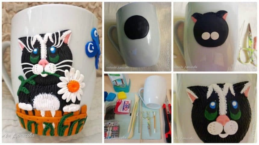 How to make polymer application in mug