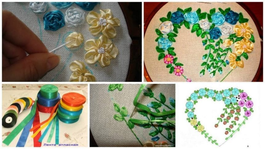 EMBROIDERY tape … lessons for beginners