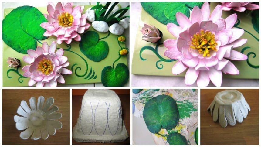 How to Make Water Lilies Out of Paper