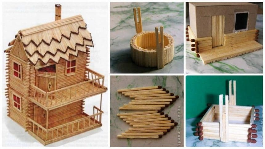 Building Made of Matches