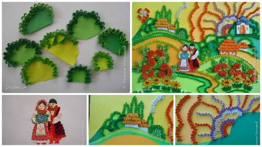 Amazing Paper Quilling Patterns