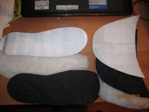 sew SLIPPERS