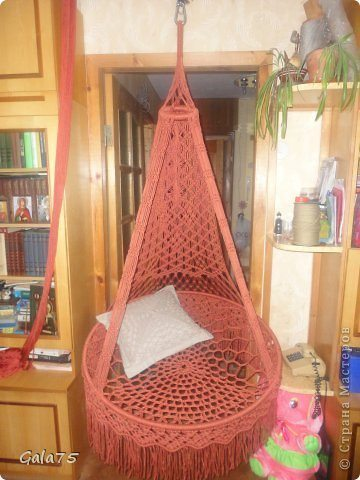 Suspended chair hammock