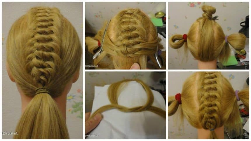 How to nodular weaving hairstyle