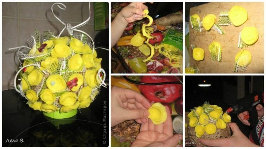 How to make flower ball