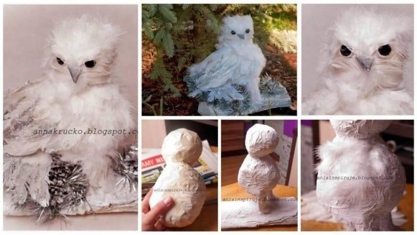 How to make white owl
