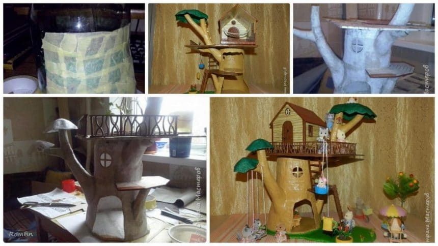 How to make tree house