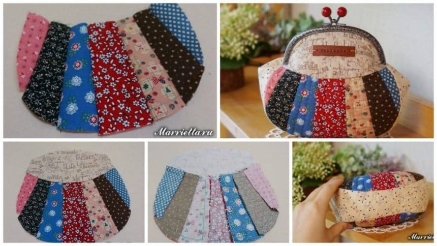 How to Sew Quilted Patchwork Zipper Pouch