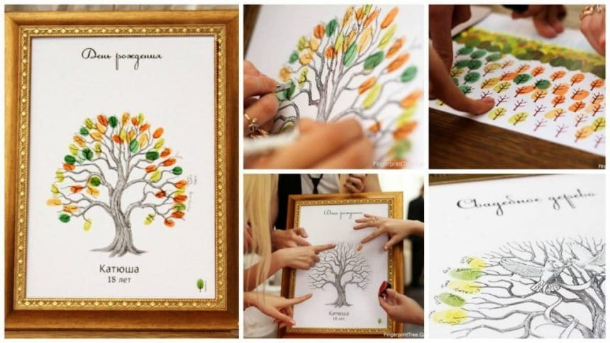 Tree of wishes – in the shadow of the good and sincere words