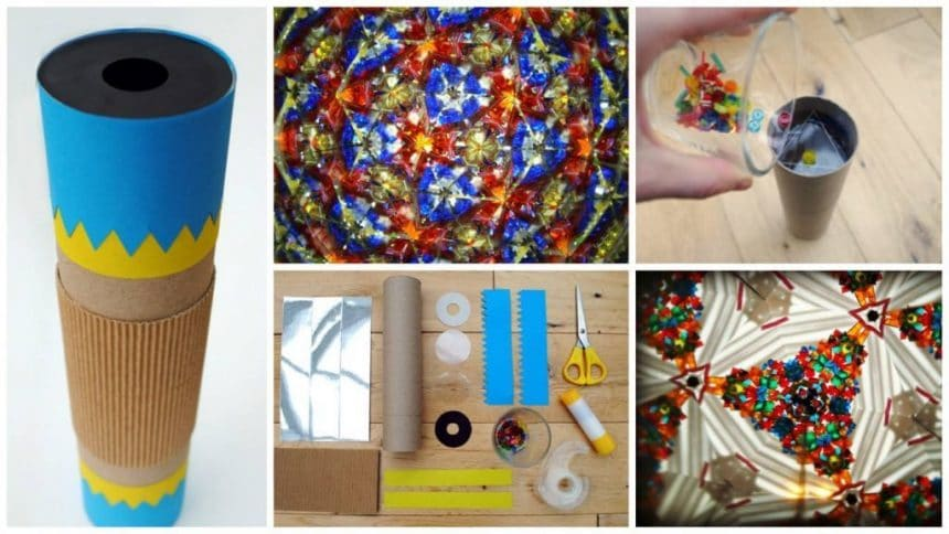 How to make a Kaleidoscope for your child