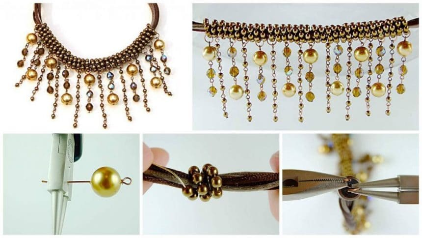 How to make beaded Necklaces