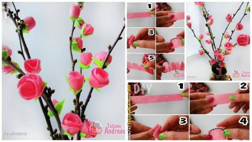 How to spring decorations