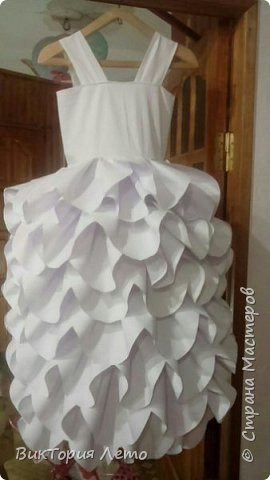 Make paper frock