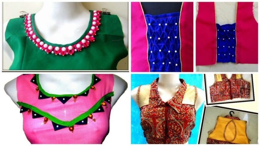 How To Make Design Clothes | How To Make Designer Kurtis Simple Craft Ideas