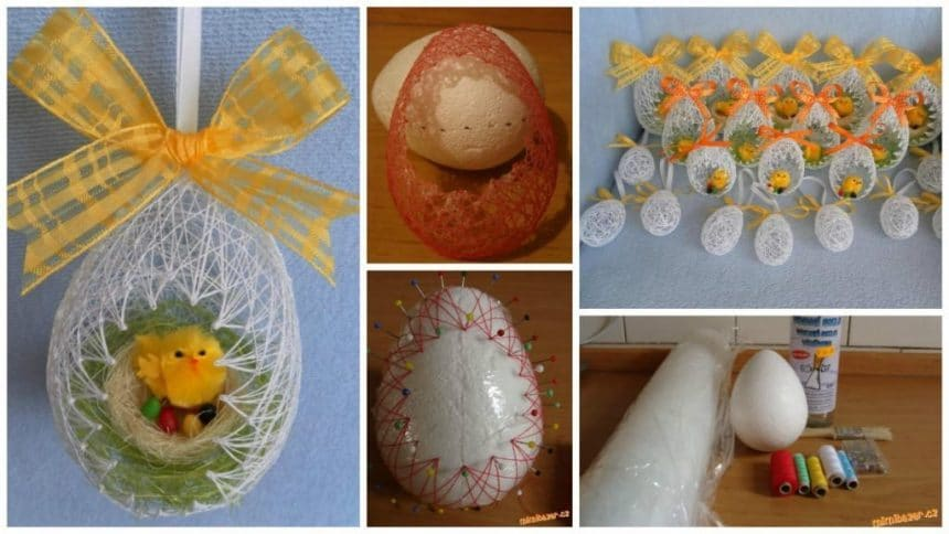 How to make decorative easter eggs