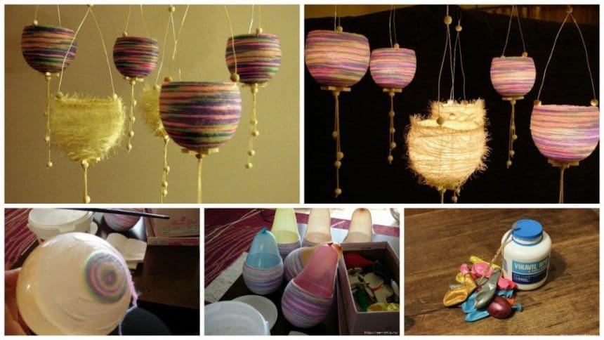 lanterns of thread