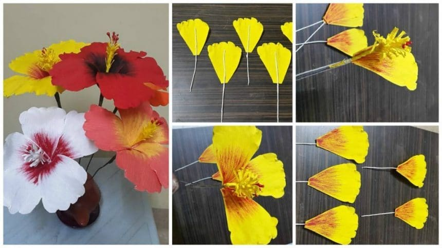 How to make shoe flowers