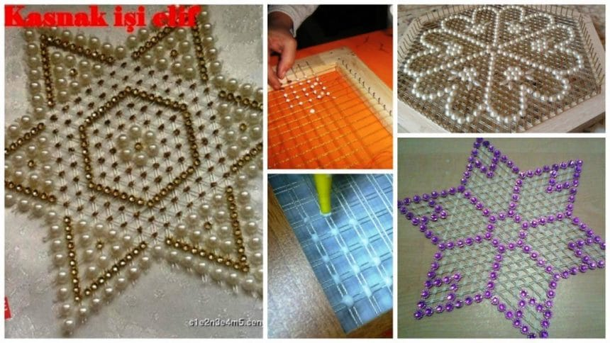 How to make lace mat
