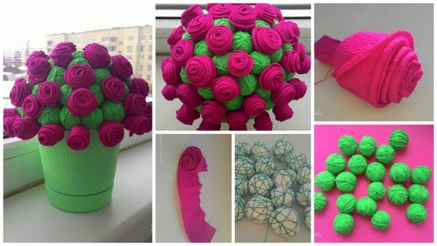 How to make roses topiary