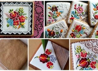 cookies in to stunning embroidery