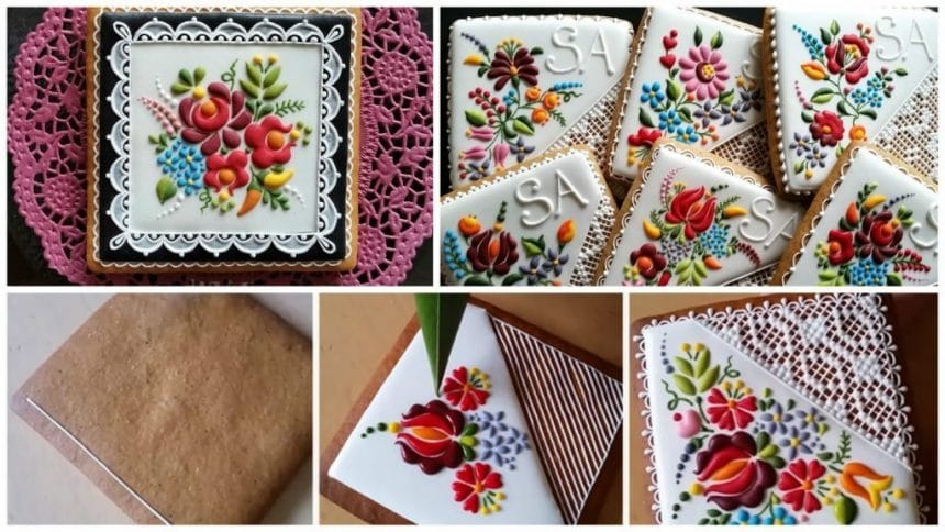 How to ordinary cookies in to stunning embroidery