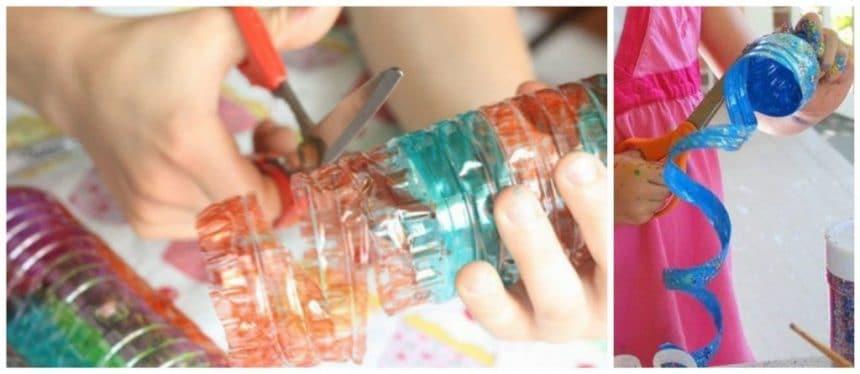 turning plastic bottles  (3)
