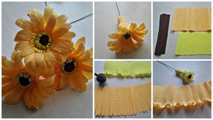 How to make Gerbera flower
