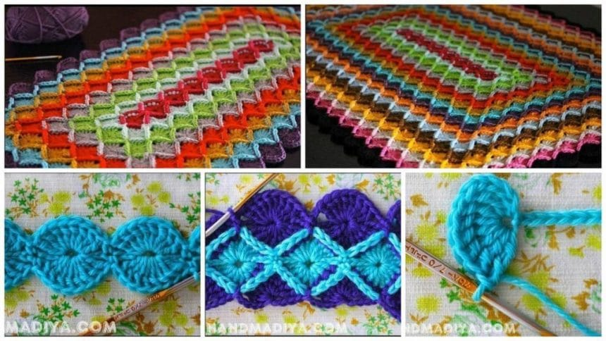 How to make knitting mat