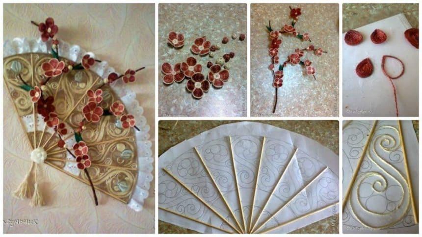 How to make fan of jute yarn