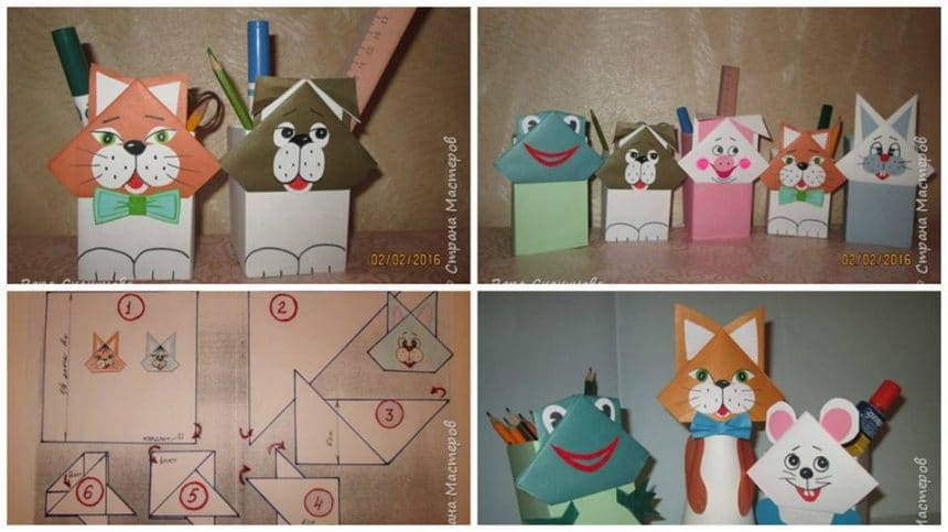 How to make  funny pencil holders
