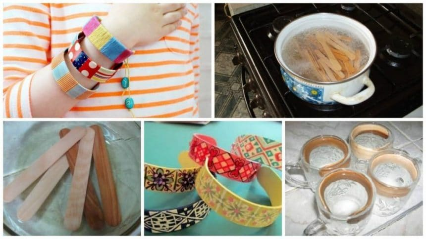 How to make bracelets out of scrap materials