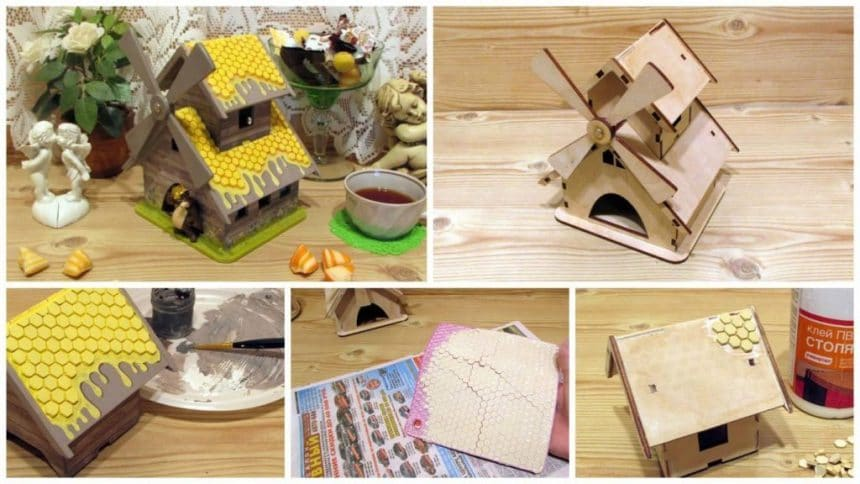 How to make house organiser for chocolates
