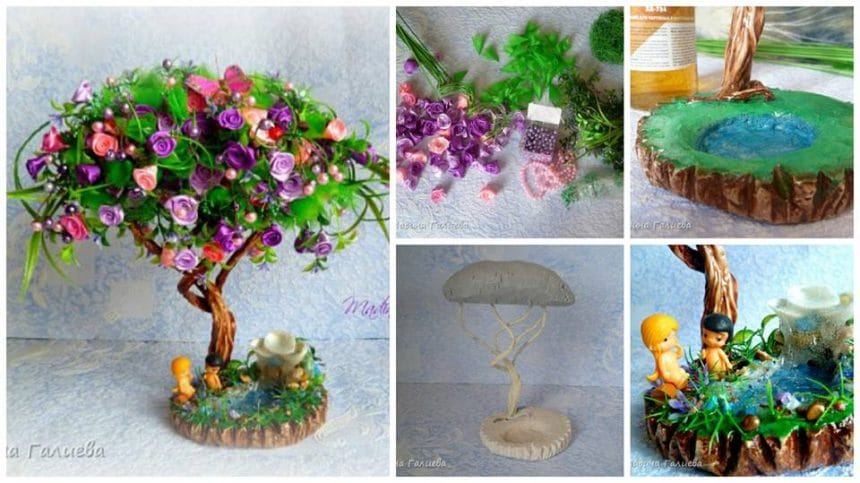 How to make bonsai flower tree
