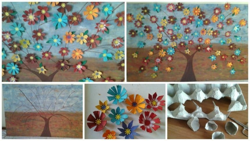 How to make flower panel from many flowers