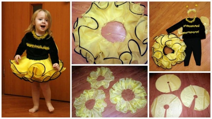 How to make bees frock
