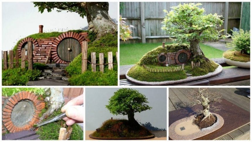 How to make hobbit house in the shadow of bonsai