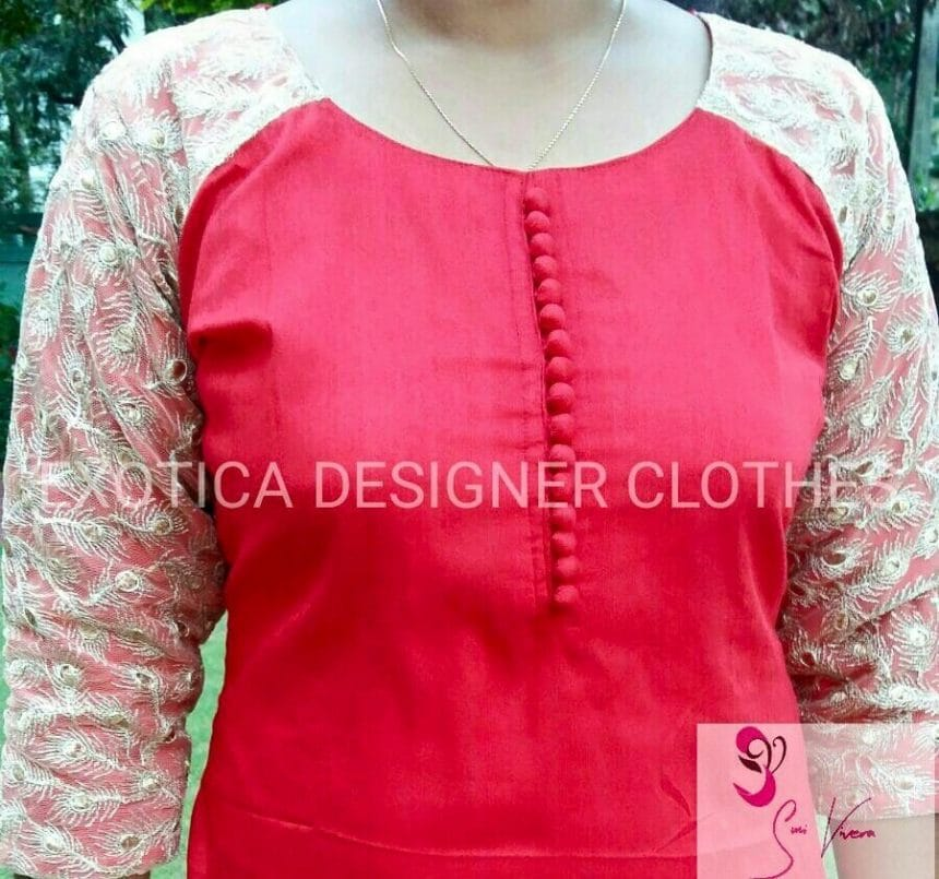 How To Make Different Types Of Kurthi Patterns Simple