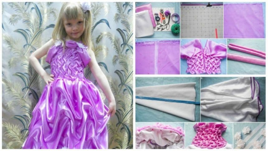 How to make dress for daughter