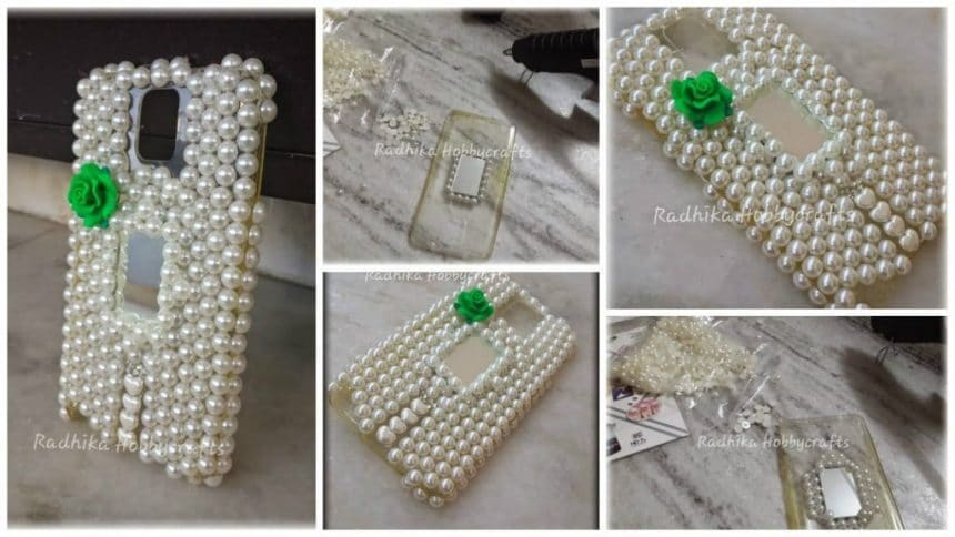 How To Make Pearl Designer Mobile Case