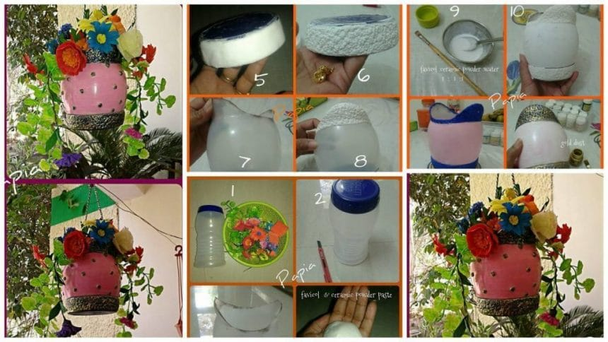 How to make hanging pot