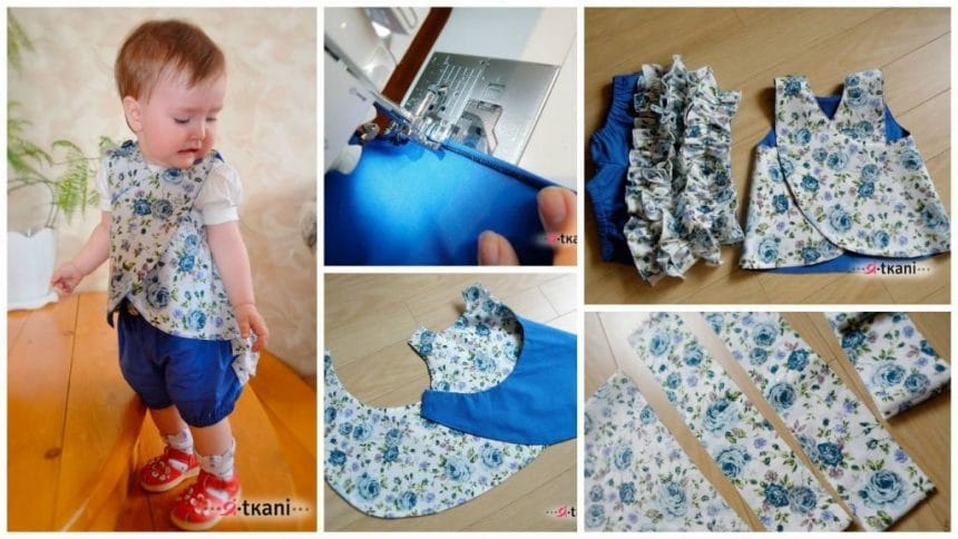 "How to Sewing kit for little fashionistas ""Summer Garden"""